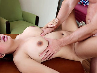 Busty gal Panda gest pounded hard