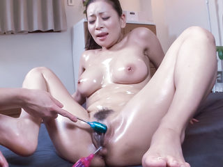 Mind blowing sex sceens along milf with big tits, Rei..