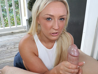 Smoking Hot Handjob POV